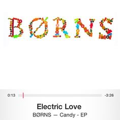 So 'Electric Love' by Børns sounds like an instant classic to me..... #justsayingggg @garrettborns
