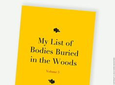 Large Jotter, Journal, Notebook, Sketchbook -  lined / unlined - Humorous Witty Funny notebook - Bodies Buried on Etsy, $19.28