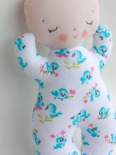 Bit of Whimsy Dolls | Butterbean PDF Pattern