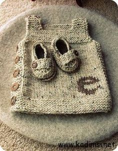 Knitting Baby Vest This adorable free knit baby vest pattern on Ravelry is worke. -Baby Vest , Knitting Baby Vest This adorable free knit baby vest pattern on Ravelry is worke. Knitting Baby Vest This adorable free knit baby vest pattern on Ra. Baby Knitting Patterns, Knitting For Kids, Baby Patterns, Free Knitting, Knitting Projects, Crochet Projects, Crochet Patterns, Knitting Stitches, Vest Pattern