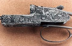 The Engraver's Cafe - The World's Largest Hand Engraving Community - My First Carved Guns.