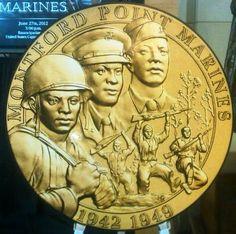 Montford Point Marines Gold Medal