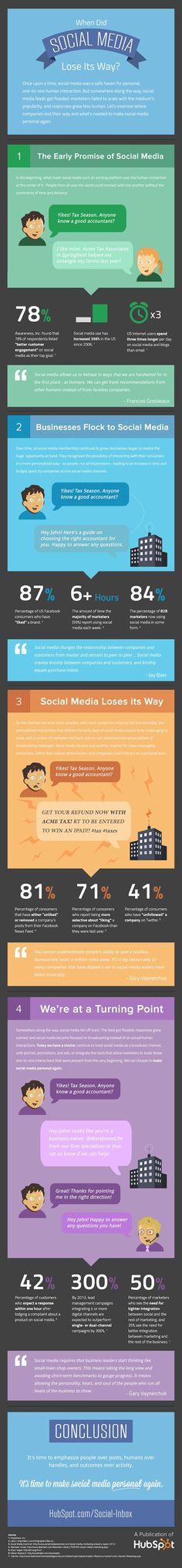 Let's make social media personal again!