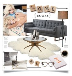 """""""Spell It Out"""" by grrr8style ❤ liked on Polyvore featuring interior, interiors, interior design, home, home decor, interior decorating, Melissa, UGG Australia, Aviva Stanoff and Nuuna"""