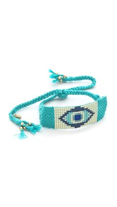 Chan Luu Tribal Beaded Evil Eye Bracelet
