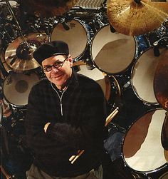 Anton Fig, drummer for the Late Show with David Letterman.