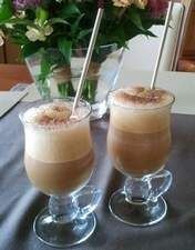 Pyszna mrożona kawa z lodami Pani Agnieszki