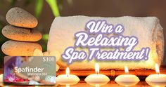 Win a $100 Spafinder Gift Card