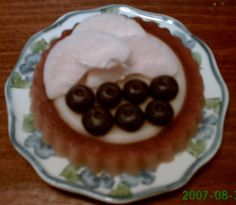Apple and Blueberry Flan Candle