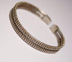 Silver Cuff Braceletmens braceletcuff bracelet by BeyhanAkman, $42.00