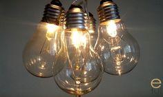 Sznur żarówek - oświetlenie diy za 10zł - e-tui.eu Light Bulb, Lighting, Home Decor, Self, Decoration Home, Room Decor, Light Globes, Lights, Home Interior Design