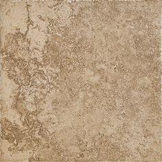 Del Conca�12-in x 12-in Roman Stone Noce Thru Body Porcelain Floor Tile (Actuals 12-in x 12-in)