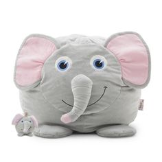 Bean Bagimals Emerson the Elephant with Li'l Buddy! Available at Walmart