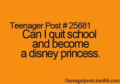 #TeenagerPosts DISNEY ROCKS