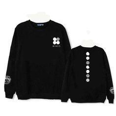 Kpop Bts Sweatshirts Moleton Bts Bangtan Boys Womens Men Hoodies Pullover Harajuku Cotton WINGS JIMIN V Tracksuit Loose Jumper