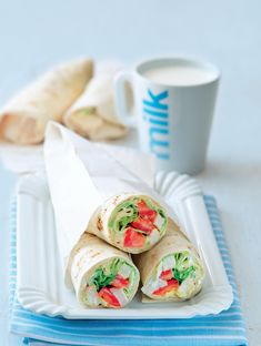 Fresh Rolls, Ethnic Recipes, Food, Meal, Essen, Hoods, Meals, Eten