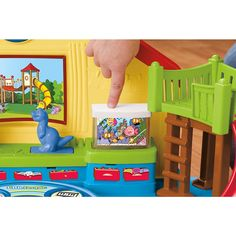 """Fisher-Price - Little People - Place Musical Preschool Playset - Mattel - Toys""""R""""Us"""