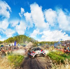 Neste Rally is the most well known event in Jyväskylä. During it the city comes to life and hosts multiple side activities as well. Plan Front, Roads, Trip Planning, Lakes, Finland, Rally, Countries, Attraction, Tourism