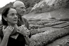 Sebastião Salgado con la moglie, Lélia Deluiz Salgado