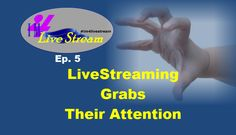 Join us TODAY Mon. May 16 as we discuss how to grab your viewers during#LiveStream events! http://bit.ly/1V66M52