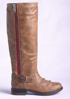madden girl zandora boot- Have them, Love them! Red makes all the differance!
