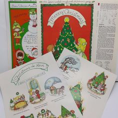 Joan Walsh Anglund Christmas Magazine Childrens pages vintage 1988 1989 1990