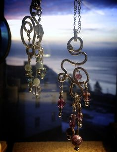 Handcrafted Pendants in Sterling 925 silver, with a view :))