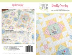 Shoofly Crossing (Fussy Cut Quilt Pattern) | Craftsy