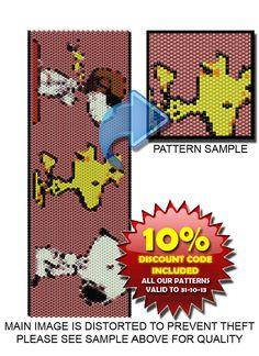 Peyote Pattern  Snoop Troop Peyote Bead by DragonsLairPatterns, £1.90