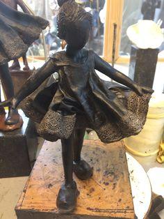 work in progress... Bente | Babke's Bronzen Beelden