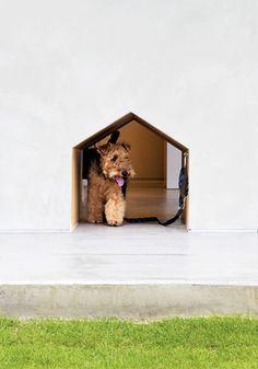 Dog Day Design: Stylish Ways to Incorporate Fido into Your Decor// doggie door