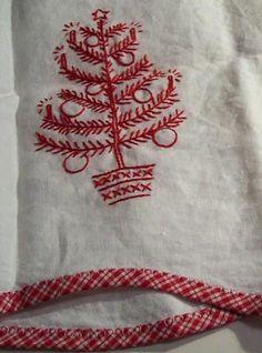 christmas redwork patterns