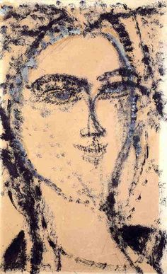 amedeo-modigliani-XX-Head-1915.jpg (450×738)