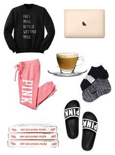 Sin título #5 by mariel-cvz on Polyvore featuring moda, Victoria's Secret PINK and Borgonovo