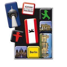 Boite d'aimants Berlin   Un paquet de cadeaux
