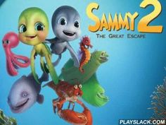 "SAMMY 2 . The Great Escape.  Android Game - playslack.com , The game SAMMY 2 - Le Jeu is created matching  to the enlivened show ""SAMMY"".  You will go on activities of your colleagues on the route gathering  coinages and wealths. In the game there re 8 characters from the enlivened show and 4 skirt games. The game is done quite qualitatively, motion graphics of characters, and also broad picture are well elaborated . Control in the game is done by means of G-sensor. It will be fit for groups…"