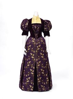 Evening dress, 1893 From the National Gallery of Victoria