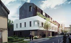 #logements #aubervilliers #nzi architectes