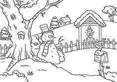 Nellie Snellen Embossing Folder - Snowman