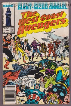THE WEST COAST AVENGERS Annual #2 - 1987 Marvel Comic Book