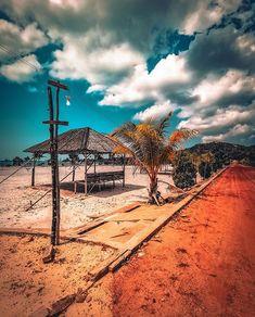 Vio Vio beach  #batam #batanisland #wonderfulbatam #vioviobeach #indonesia #explorebatam #visitindonesia #beach Batam, Sidewalk, Explore, Beach, Walkways, Exploring, Pavement, Curb Appeal