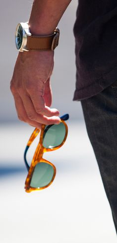 TOMS Rooper Sunglasses. Each purchase allows TOMS to give sight to someone in need.