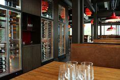 Xeast   Nydalen, Oslo - Foodtech Oslo, Restaurant Bar, Liquor Cabinet, Furniture, Home Decor, House Bar, Interior Design, Home Interior Design, Arredamento