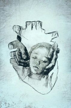 Mothers heart ( with a picture of the artist Käthe Kollwitz)