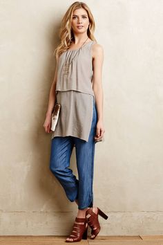 Pyla Tiered Tunic - anthropologie.com