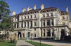 """Out of the gilded age: The Breakers - Vanderbilt """"summer cottage"""" in Newport, RI"""