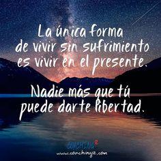 Nadie más que tú puede darte libertad.  #reflexiondeldia #reflexion #frasedeldia #coaching #coaching12 #coachingonline #coachingbarcelona #desarrollopersonal #despertar #desarrollo