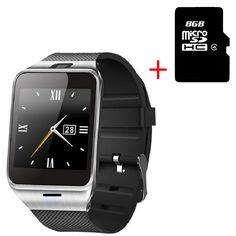 Hot Fashion Aplus GV18 Smart Uhr Unterstützung SIM Karte NFC Bluetooth Reloj Inteligente für IOS Android Telefon Smartwatch Uhr //Price: $US $19.95 & FREE Shipping //     #smartuhren