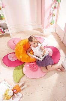 HABA - Erfinder für Kinder - Kuschelblume - Kissen + Sitzsäcke + Sofas - Kinderzimmer - Spielzeug & Möbel
