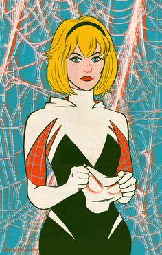 Spider-Gwen Unmasked - Jordan Gibson